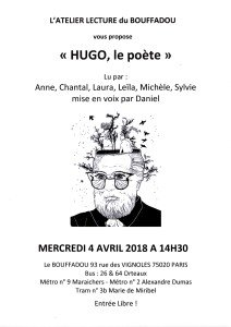 APRES MIDI LECTURE HUGO LE POETE