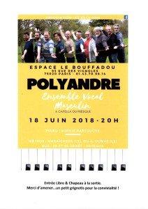 SOIREE DU 18 JUIN 2018 POLYANDRE