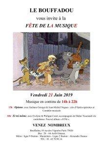 Fête de la musique 21 juin