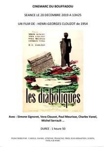 AFFICHE CINEMARC 20 DECEMBRE 2019 LES DIABOLIQUES (1)