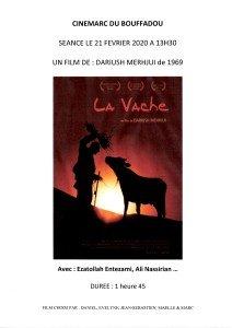 AFFICHE CINEMARC 21 FEVRIER 2020 LA VACHE 2