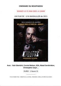 AFFICHE CINEMARC 21 MAI 2021 NOBODY